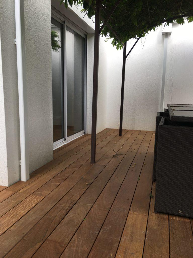 Construction Bois Nantes - bois exotique IPE terrasse